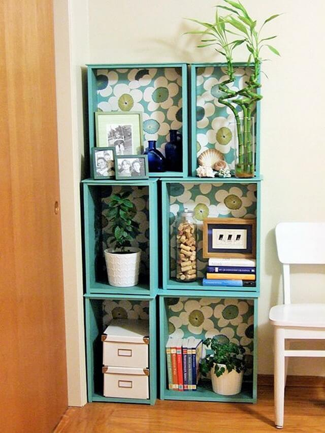 Home Decor Ideas-Modular-bookshelves