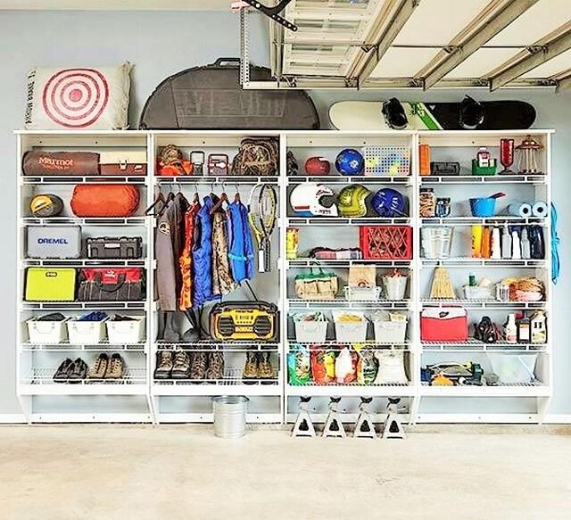 Home Decor Ideas-garage-storage-rack