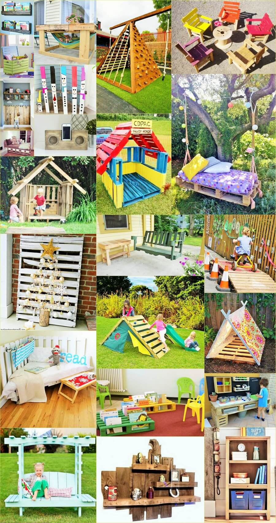 Kids craft handmade-with-woodpallets