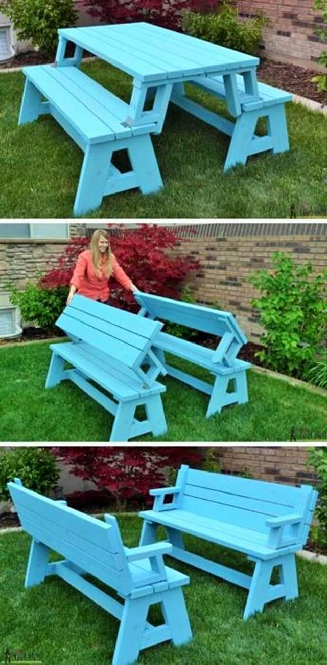 Pallets-Convertable-Picnic-Table-and-Bench-1