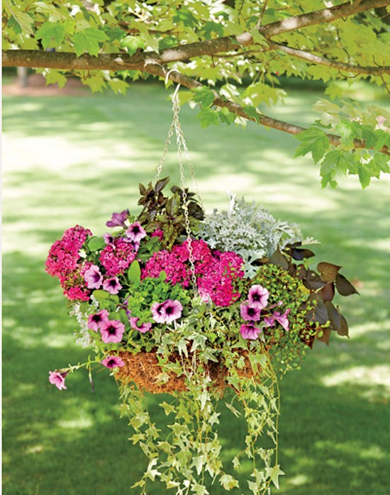 Romantic Hanging Gardening Ideas