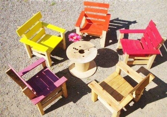 wooden Pallets-Kids Crafts ideas (2)