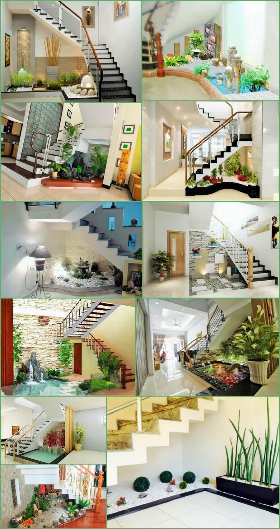 Samll-Garden-Ideas-Under-the-Stairs