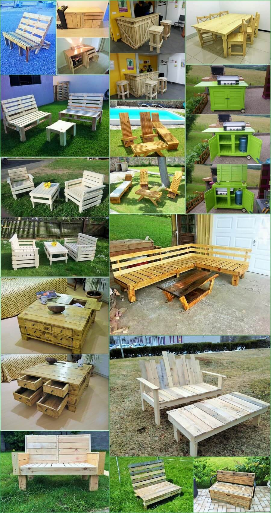 wooden Pallets Ideas