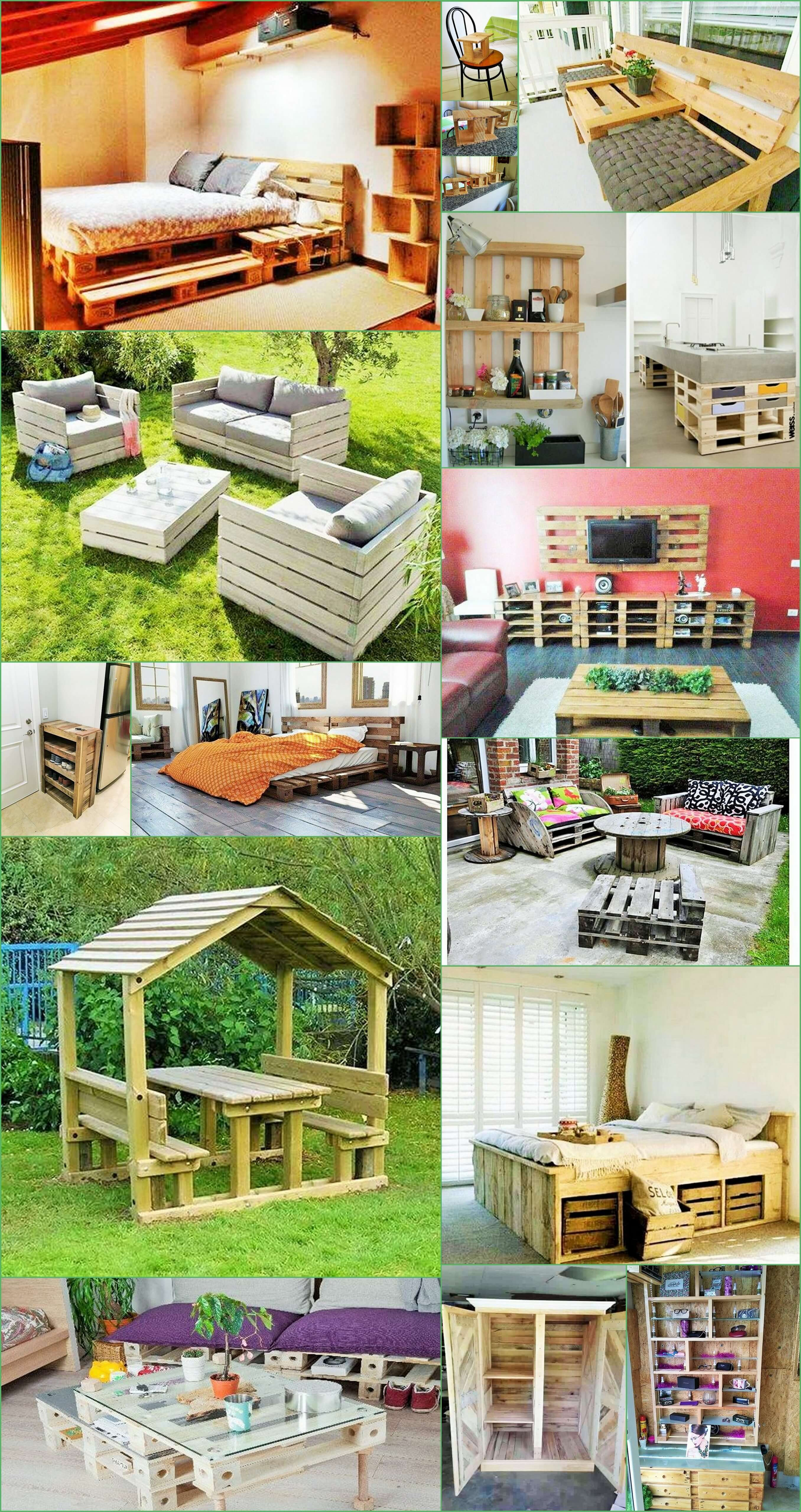 Home Decor with Wooden Pallets Furniture