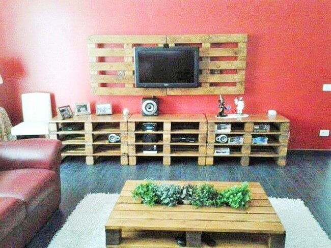 Home Decor with Wooden Pallets Furniture-2