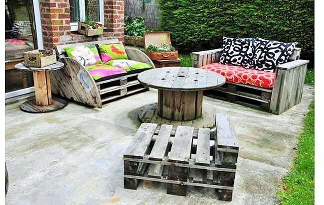 Home Decor with Wooden Pallets Furniture-4
