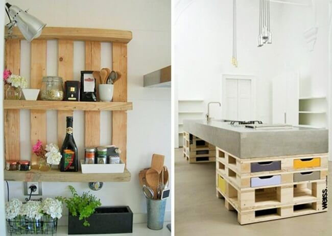 Home Decor with Wooden Pallets Furniture-7