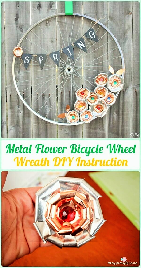 DIY Recycle-Bike-Rims-Craft