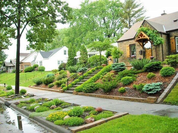 best ideas for decorating the front yard landscape 1001 motive ideas