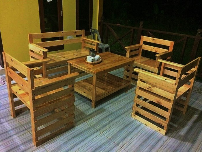 Homemade furniture with wooden palettes 1001 motive ideas solutioingenieria Gallery