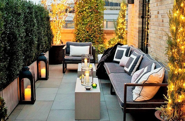 how to decorate the outdoor part of the home  best