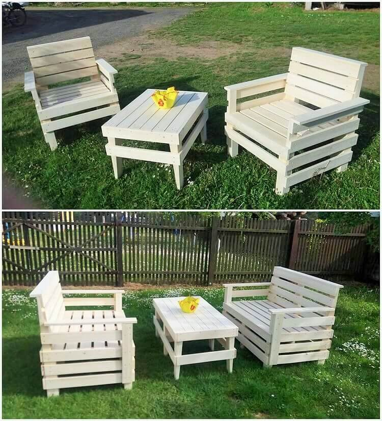 DIY Wooden-Pallets-Garden-Furniture