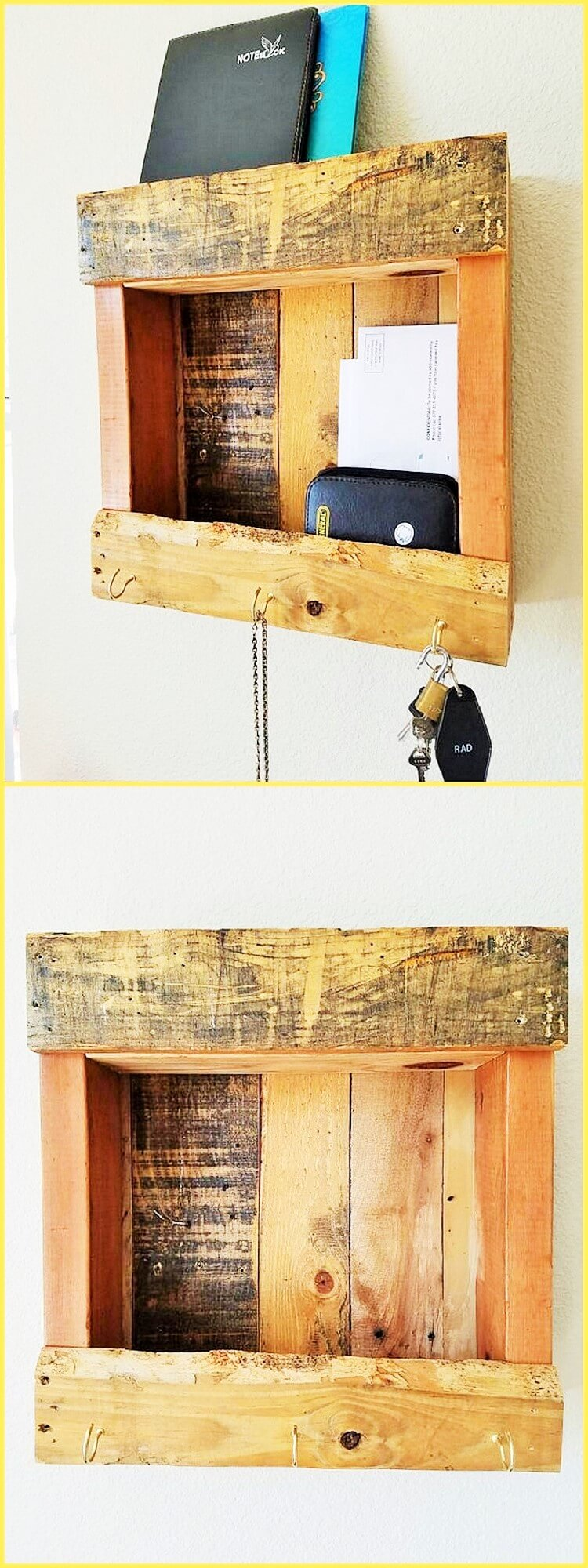 DIY-Best Ideas For Wooden Furniture Made From Palettes - 1001 Motive ...