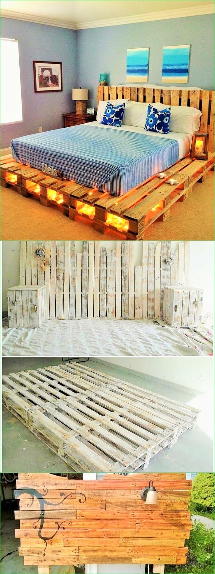 DIY Pallet Bed Ideas (2)