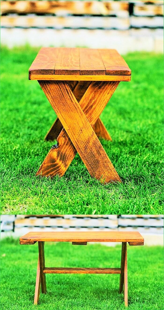 DIY Pallets Table (2)