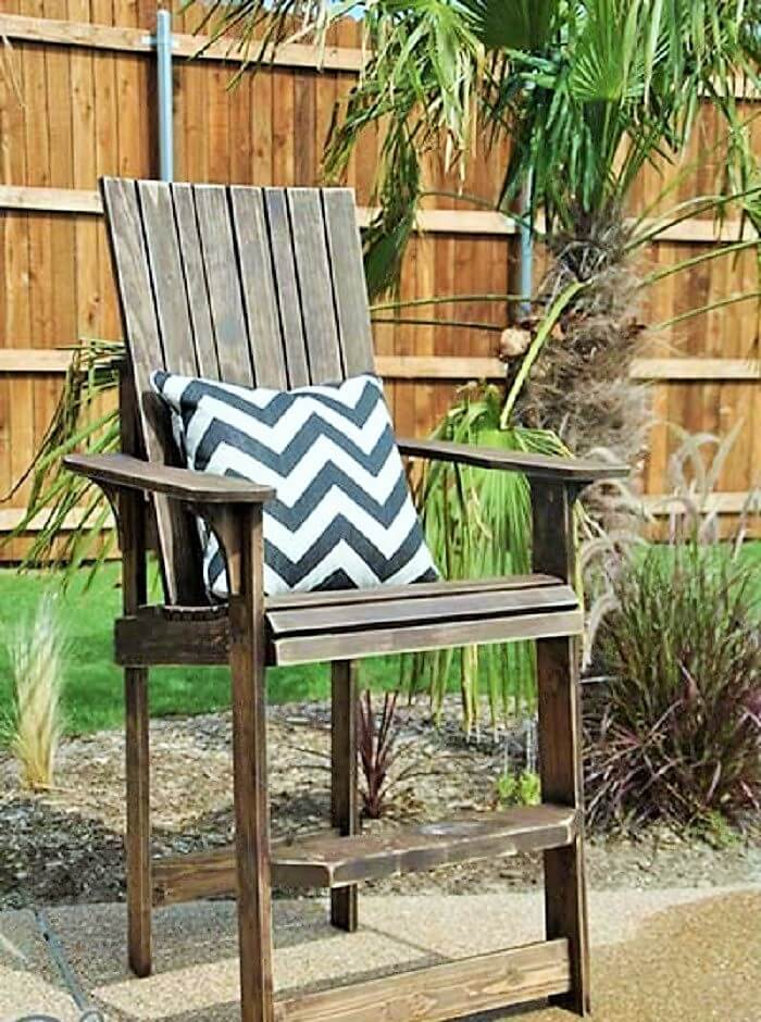 DIY Wooden Pallets Chair-2