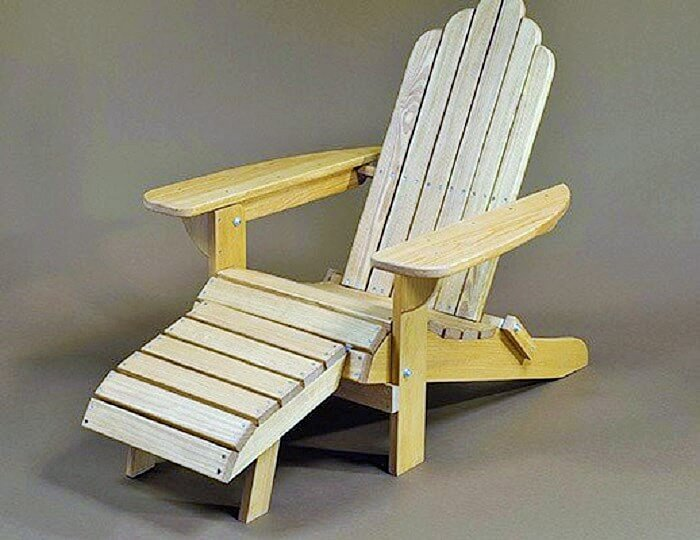 DIY Wooden Pallets Chair-4
