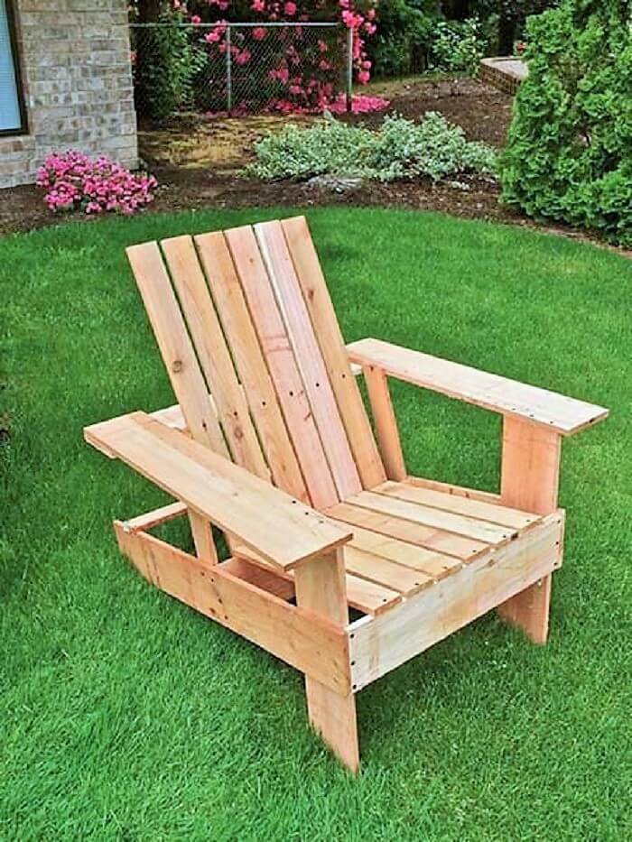 DIY Wooden Pallets Chair