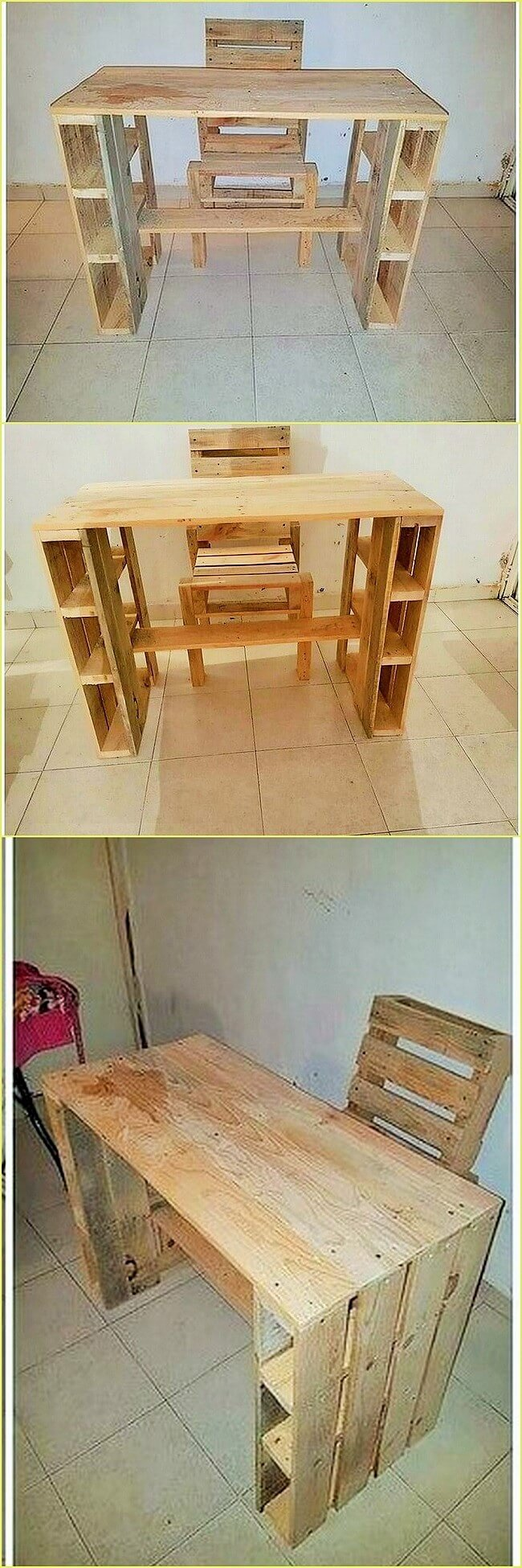 Wooden-Pallet-Desk-Table-and-Chair