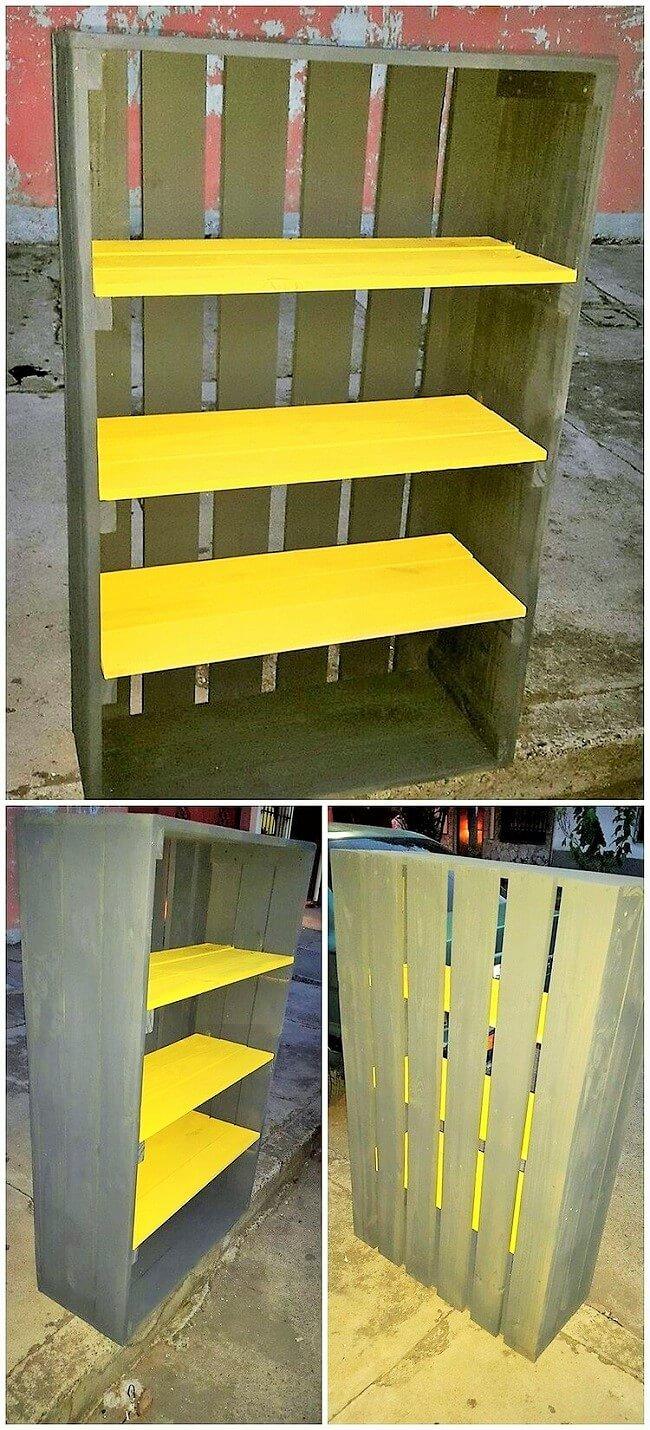 Wooden-Pallet-Shelving-Unit