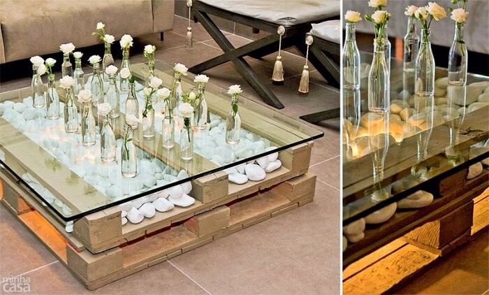 Wooden Pallets Table Ideas.