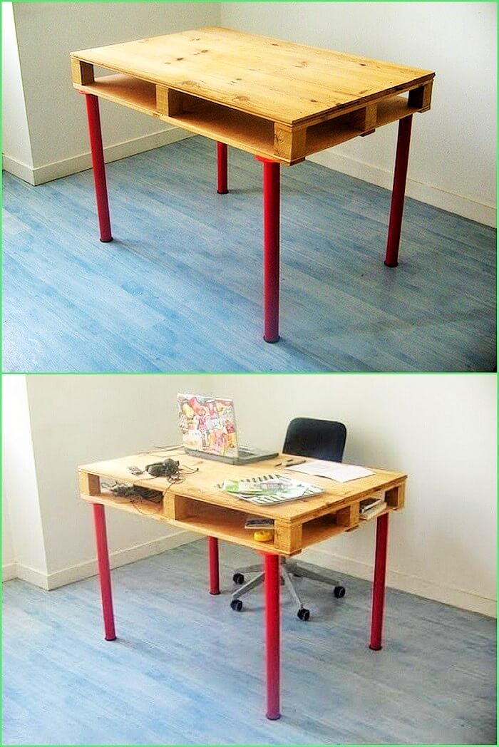 Wooden Pallets Table Ideas