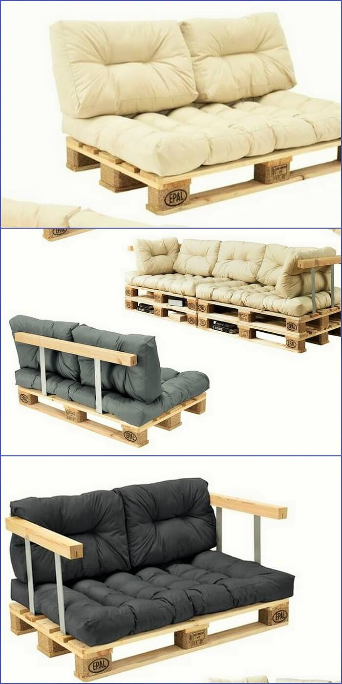 Wooden pallets Sofa