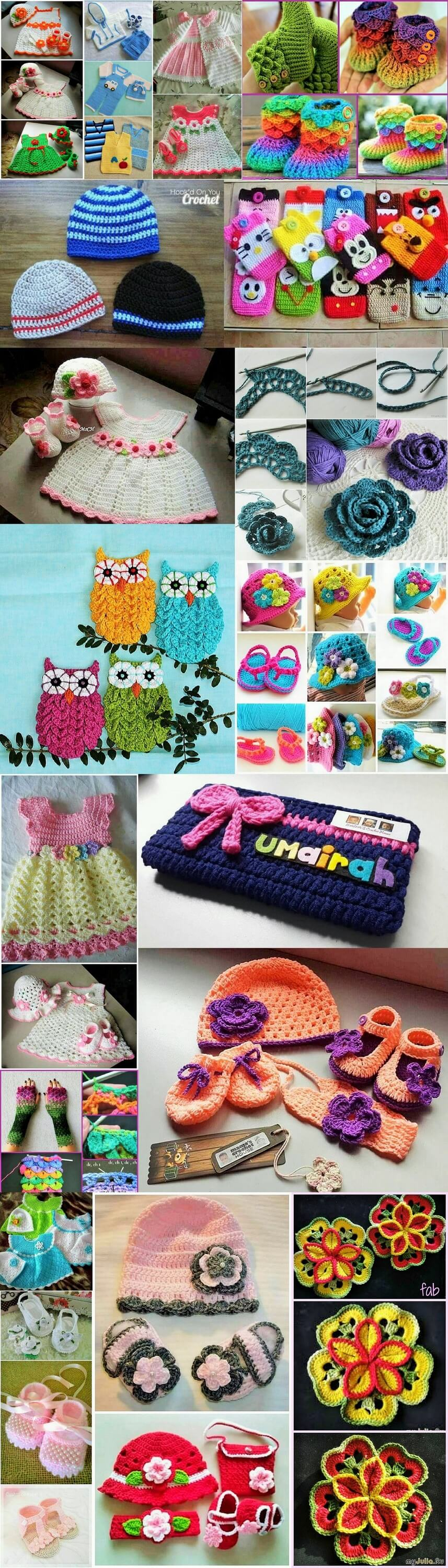 diy-crochet-Hand made-Accessories-Ideas