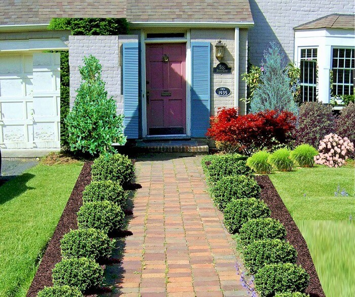 Colorful-Front-Yard-shade-garden-Ideas (15)