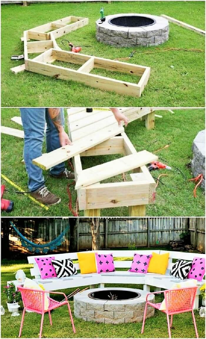 DIY-Circle-Bench-Project