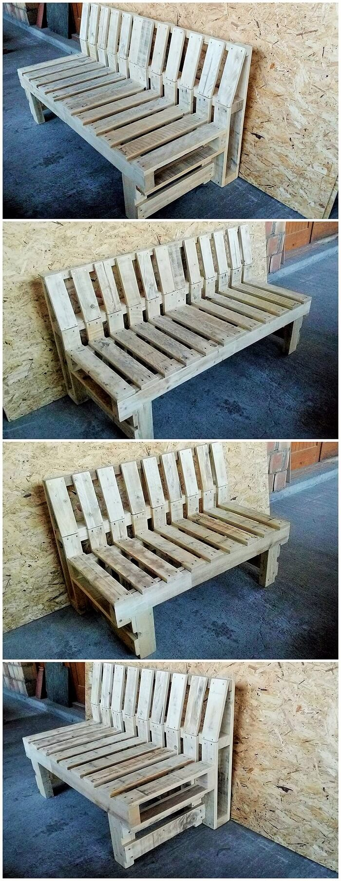DIY WOOD PALLETS MADE TERRACE PROJECT (11)