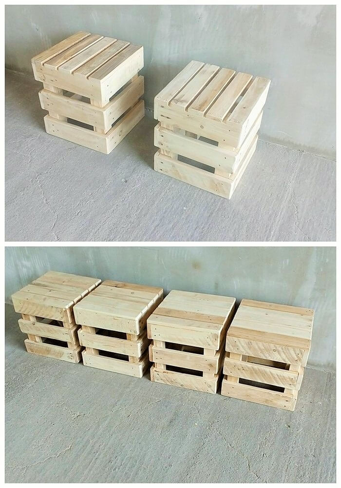 DIY WOOD PALLETS MADE TERRACE PROJECT (12)