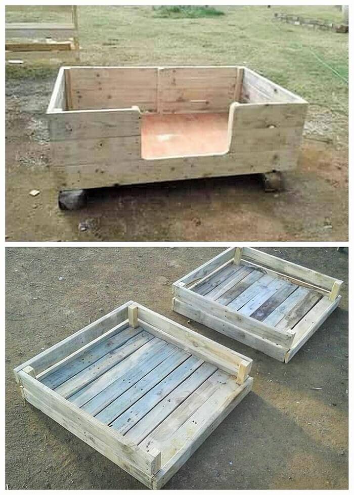 DIY WOOD PALLETS MADE TERRACE PROJECT (19)