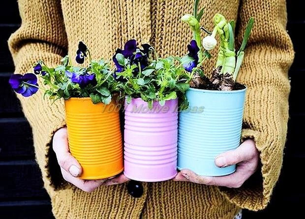 DIY-olorful-Tin-Can-Planters-for-Spring-Ideas (2)