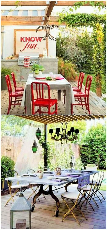 DIY-outdoor-Dining Table-Ideas