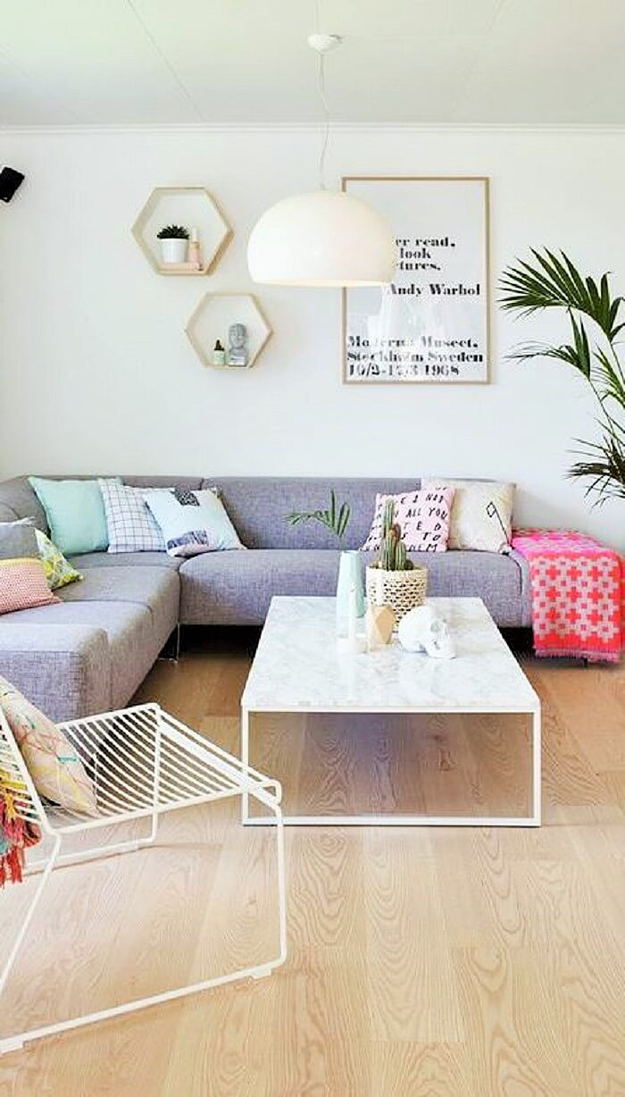 Inspiring Warehouse Apartment Beautifully Styled Living Room-33 (2)