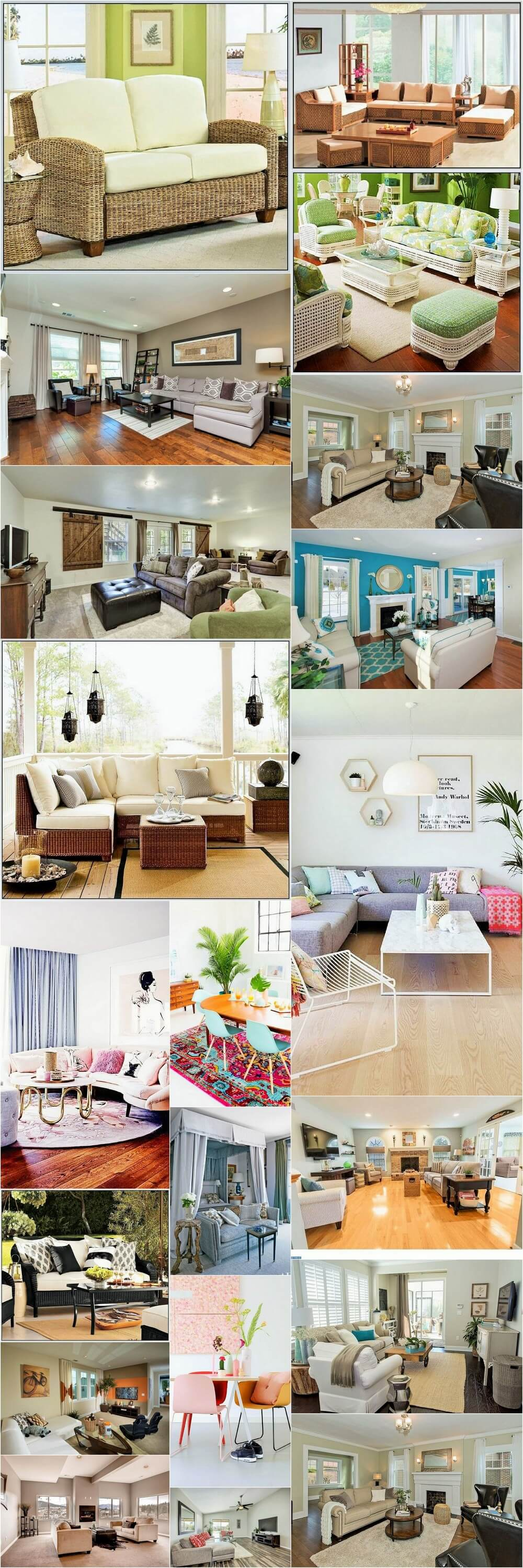 Inspiring Warehouse Apartment Beautifully Styled Living Room