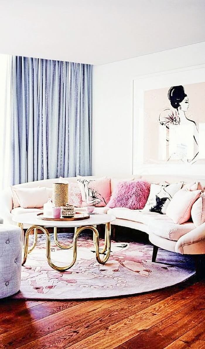 Inspiring Warehouse Apartment Beautifully Styled Living Room108 (2)