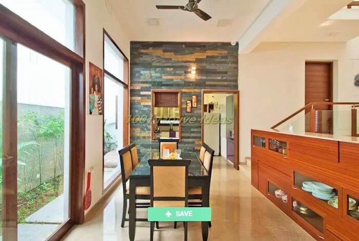 Modern dining room photos mr sajeev kumar s residence at girugambakkam near m.i.o.t hospital chennai tamilnadu homify (2)