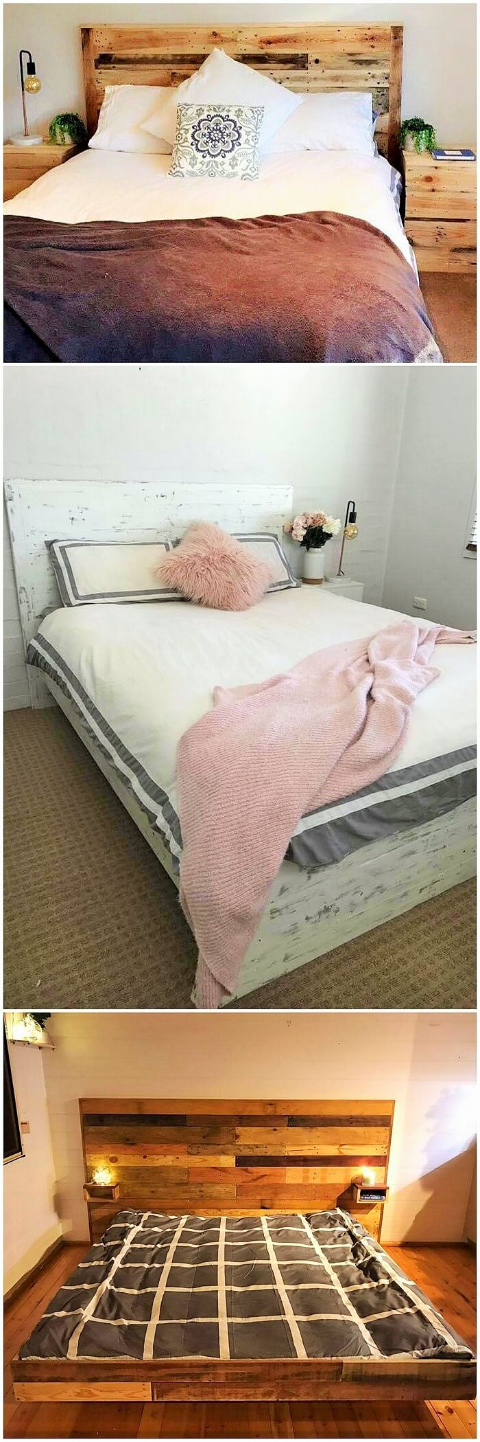 Wooden Pallets Bed Ideas (2)