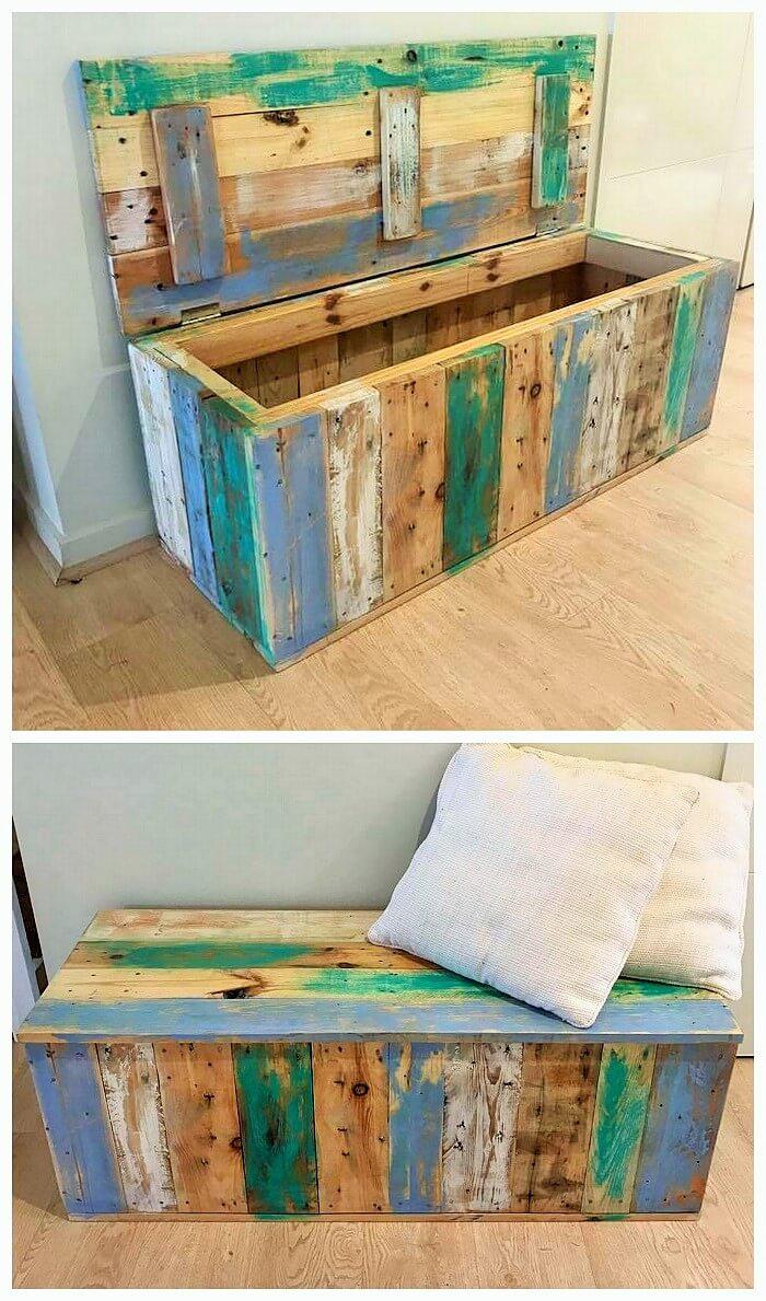 Wooden Pallets Box Ideas (2)