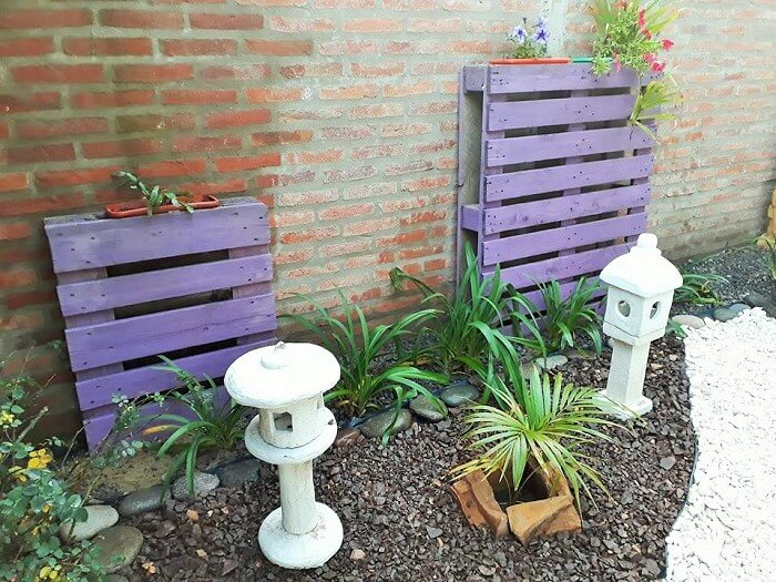 Wooden Pallets Garden Ideas (2)