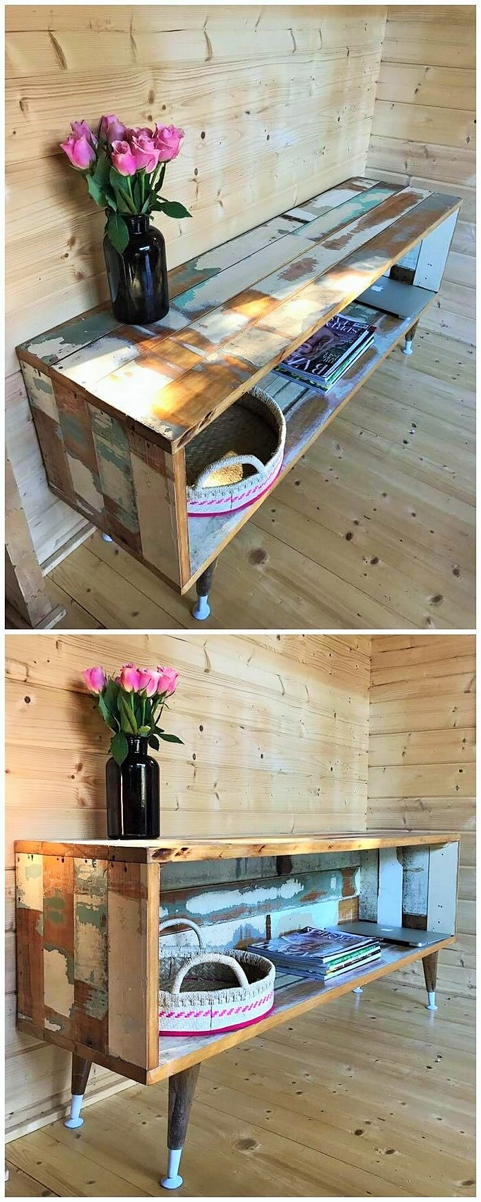 Wooden Pallets Save Table Ideas (2)