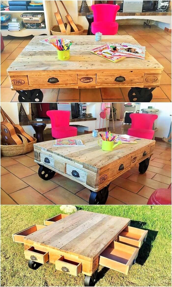 DIY-Pallet-Coffee-Table-with-Drawers