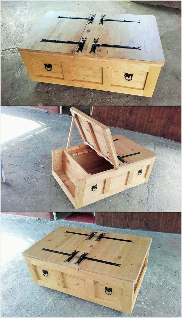 DIY-Pallet-Table-Cum-Chest (2)