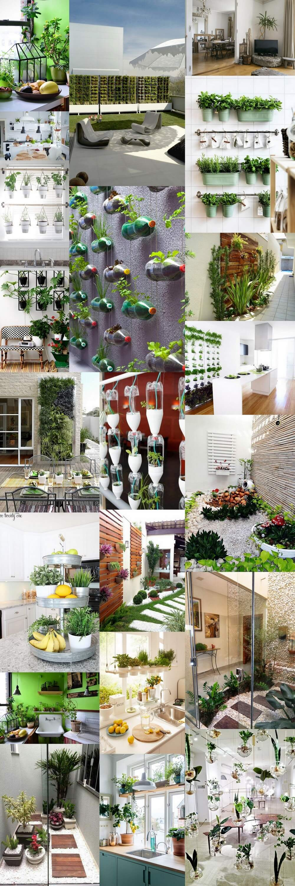 DIY-Small space- indoor-Outdoor-garden-ideas