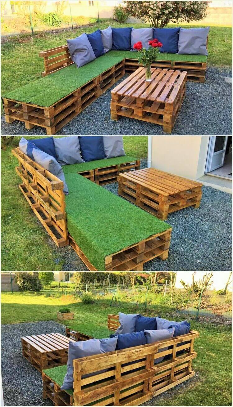 DIY-Wood-Pallet-Garden-Furniture-Set (2)