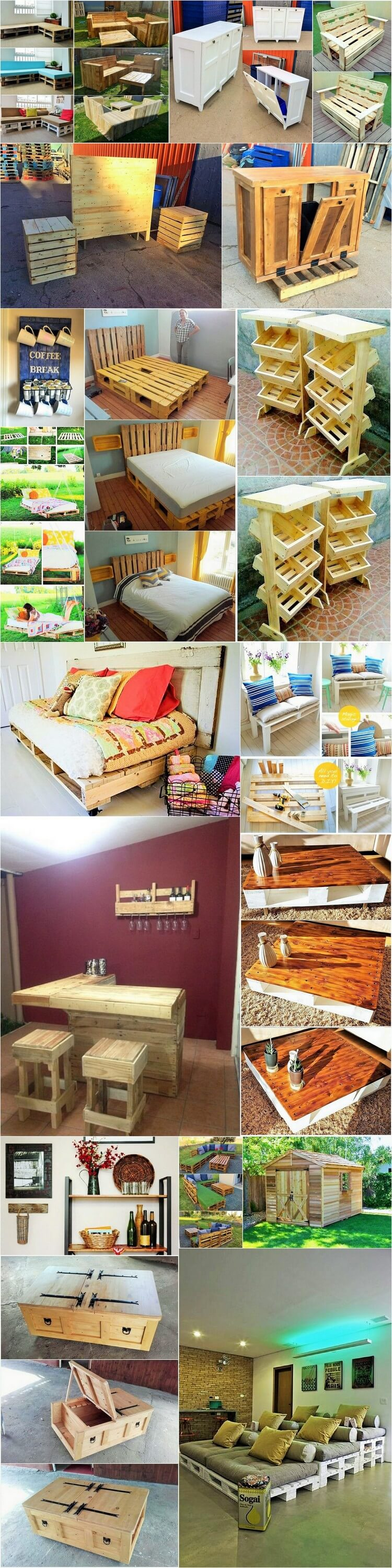 DIY-Wooden Pallets ideas