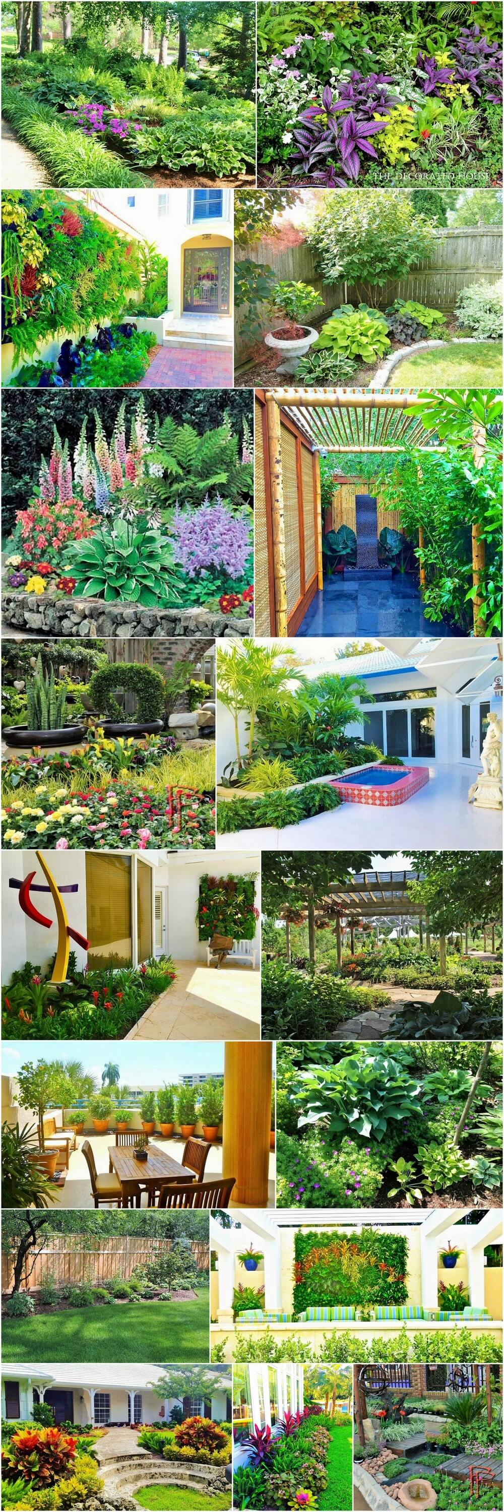 How To Decorate The Garden Of Your Home? - 1001 Motive Ideas